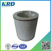 High cost-effective Hepa Cylinder Air Filter Cartridge for Truck