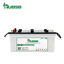 N200 12V 200Ah Super Power Auto Starting dry charged car battery