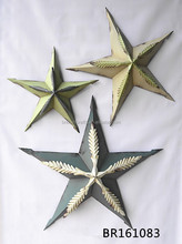 decorative metal texas star wall hanging craft wholesale