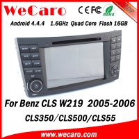 Wecaro WC-MB7501 Android 4.4.4 radio HD for mercedes cls w219 car dvd player 2005 2006 USB SD