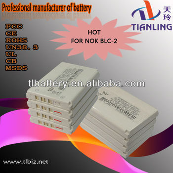 2013 New Mobile Battery Blc-2 For Nokia 3310