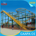 Changda 20 seats 5 cars Amusement Spinning Roller Coaster For Sale