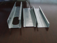 Zinc galvanized C channel profiles Light gauge steel structure channel