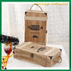 Decoration Craft 2 Bottle Wooden Wine