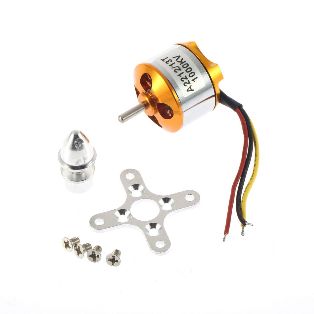 A2212/13 KV1000 RC Brushless Motor Brushless Quad rotor Multi-copter and RC Aircraft