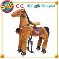 HI CE Funny for kids and adult ride on horse toys with spring for playing for sale