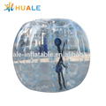 Durable PVC material inflatable bubble ball football game bumper ball for sale