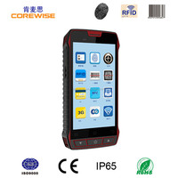 Handheld rugged smart phone with NFC, anti theft barcode labels scanner system (WIFI/GPRS/GPS/Bluetooth/Quad-core)