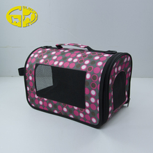 Safety Personalized dog bag pet carrier for small animals