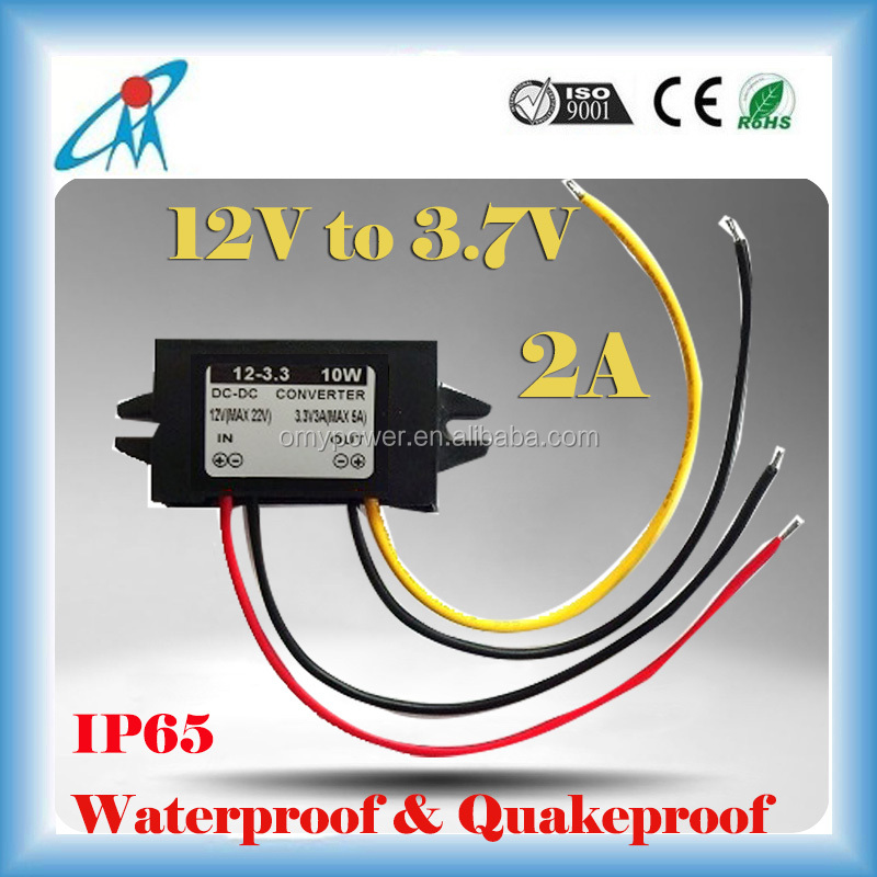 Factory wholesale step down dc/dc converter 12V to 3.3V 3A power converter