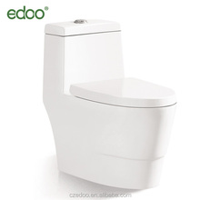 Big size super flush siphonic one piece water closet WC toilet bowl sanitary ware popular toilet