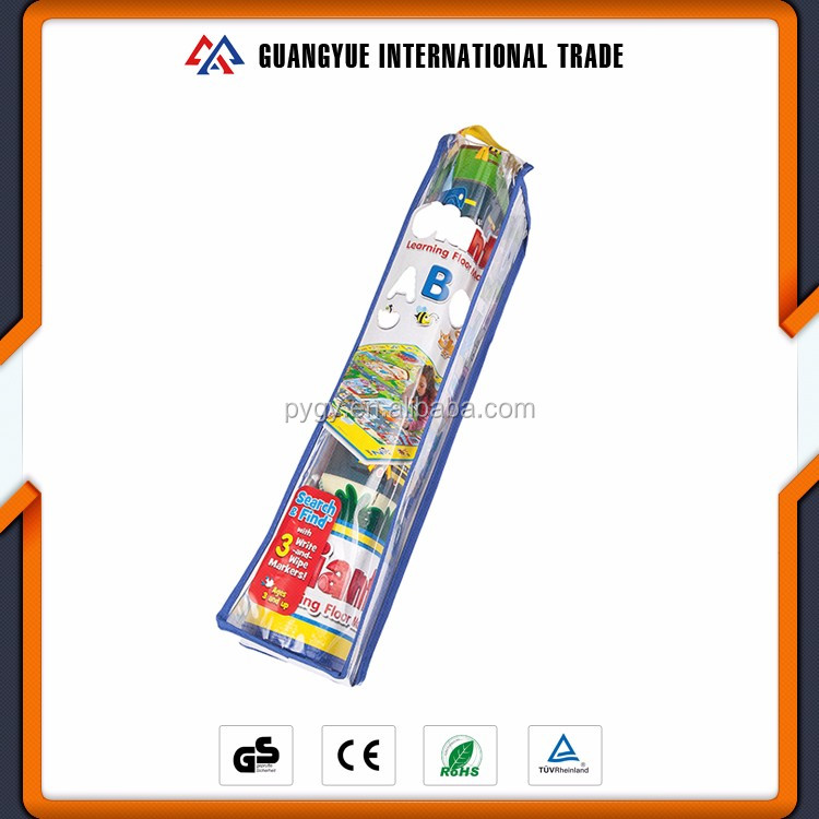Guangyue New Year Gifts 2017 PP Non Woven Laminated Foldable Picnic Beach Kids Play Mats