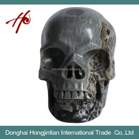 HJT-SK-7 Natural Quartz Skull Made in China Have the Magic in Mayan Civilizations