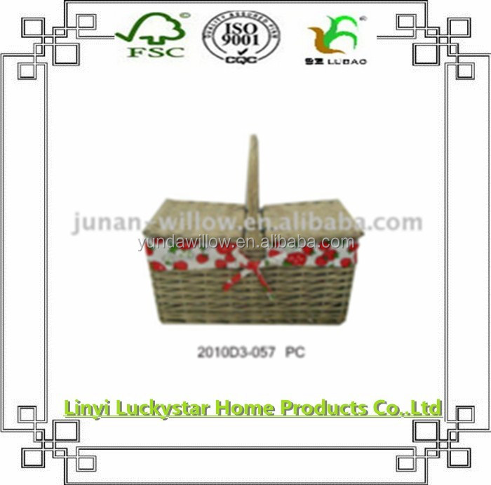 Willow Type and China Regional Feature Food Basket