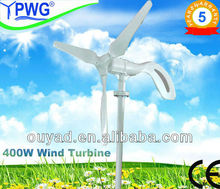 alternative green energy 400w small wind turbine design