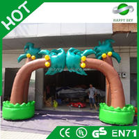 Factory Price inflatable arch bouncer, inflatable promotional arch,inflatable chinese dragon arch