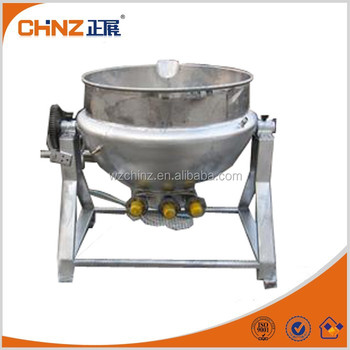 2015 Hot Sale Electric Double Jacket Tilting Kettle