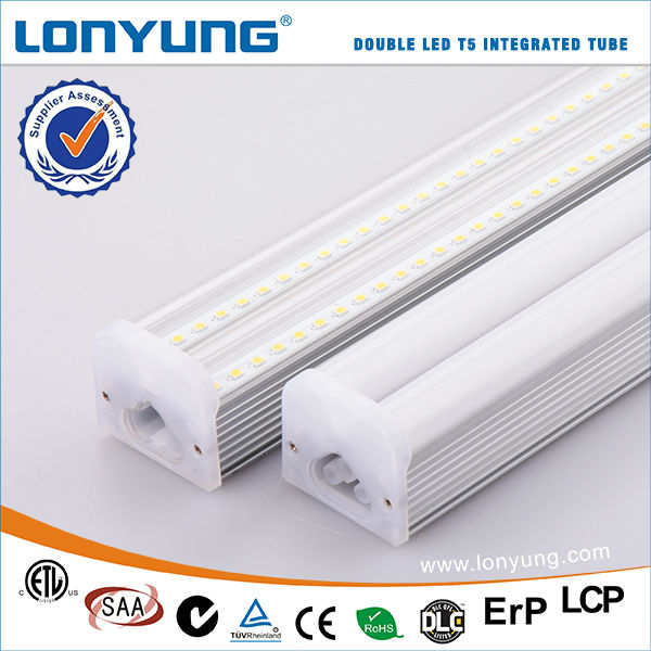T5 integrated plastic extruded led tube components 450mm t5 led tube
