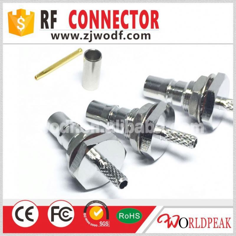 factory price QMA Connector Male For RG174 type Cable