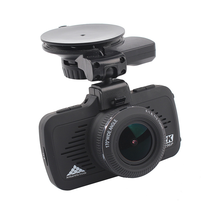 2.7 Inch Ambarella A7LA50 Super Mini Full HD 1296P Vehicle Dash Camera with GPS Car Black box