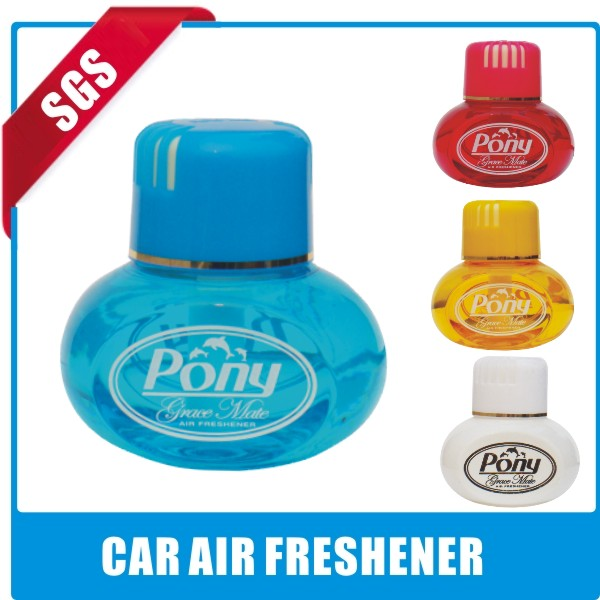2014 mini long lasting smell poppy liquid car air freshener