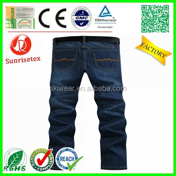 Fashion New Style jeans with designs on legs Factory