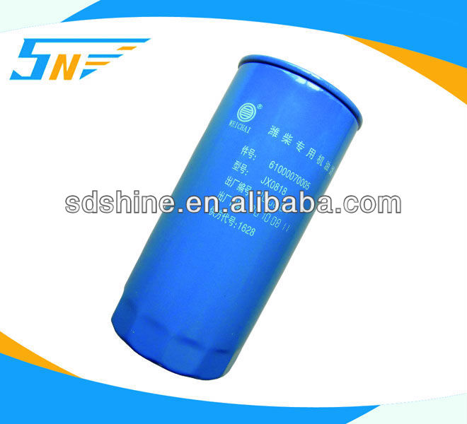 Weichai engine oil filter,Diesel engine oil filter,61000070005