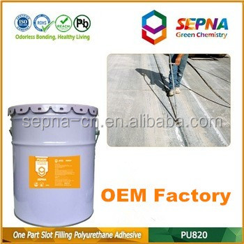 Professional-grade cement color Self-Leveling elastomeric polyurethane patios joint sealant