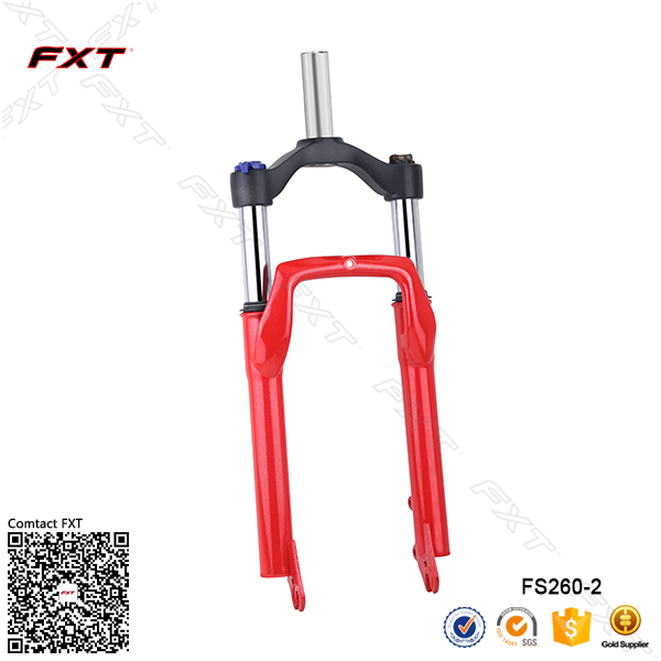 Fat bike fork and Beach cruiser bicycle suspension fork