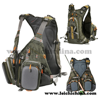 In Stock Outdoors backpack fly fishing vest