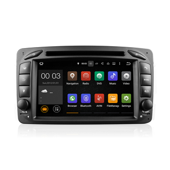 popular 7 inch android 5.1.1 Car Multimedia System for C-class B enz W203 with USB GPS Wifi 3G mirror link