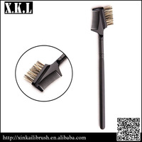 single cosmetic eyebrow comb brush