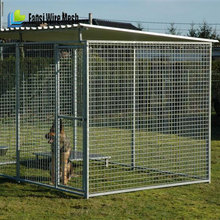 Alibaba china hot dip galvanized chain link dog kennel panels