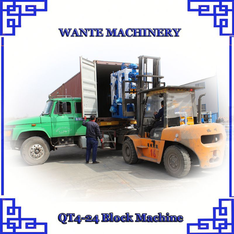 WANTE MACHINERY QT4-24 block making machine suppliers in south africa