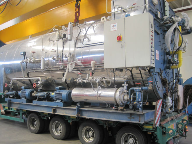 Steam Boiler Bono Energia 12000 Kg/h 25 bar