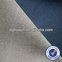 high quality pu bonded fake leather for sofa