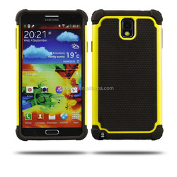 2 in 1 Football Grain PC Silicone Hybrid Combo Back Case Cover For Samsung Note3