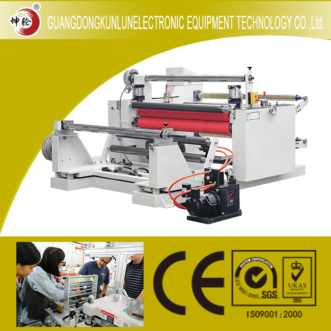 KL-Copper Foil Tape Slitting Machine For Adhesive Silicone Foam Tape