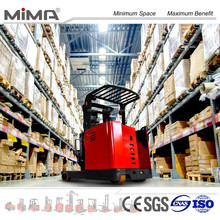 food storage 2.5T loading electric reach truck with 7200 mm height