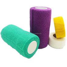 Vet Wrap / Race Horse/ Nonwoven Cohesive/ Self Adhesive Elastic Bandage With ISO/CE/FDA