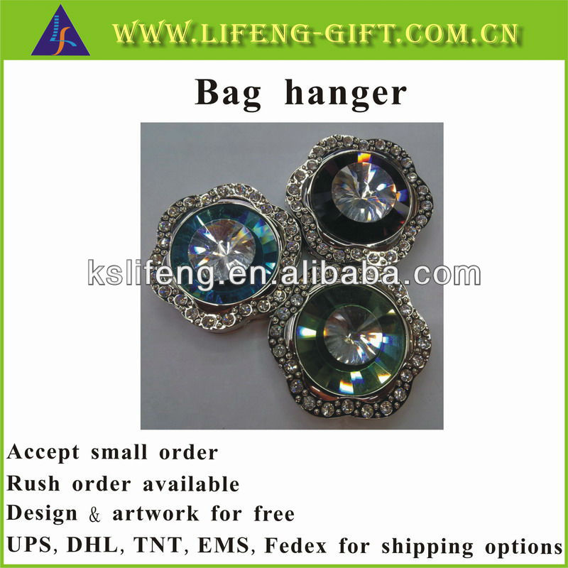 Stock bag hanger promotion gift for ladies