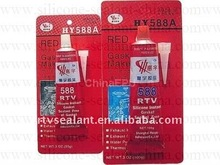 Red RTV silicone gasket maker