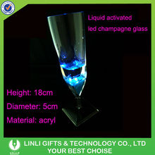 Plastic LED Flashing Champagne Cup