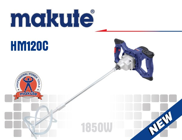 MAKUTE HM-120C Variable speed industrial electric hand mixer