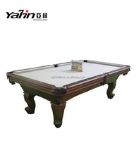 Classical Antique carving wooden pool table 8 ft american pool tables
