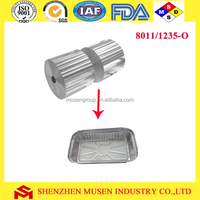 8011 H22 H24 Lubricated aluminium food container foil