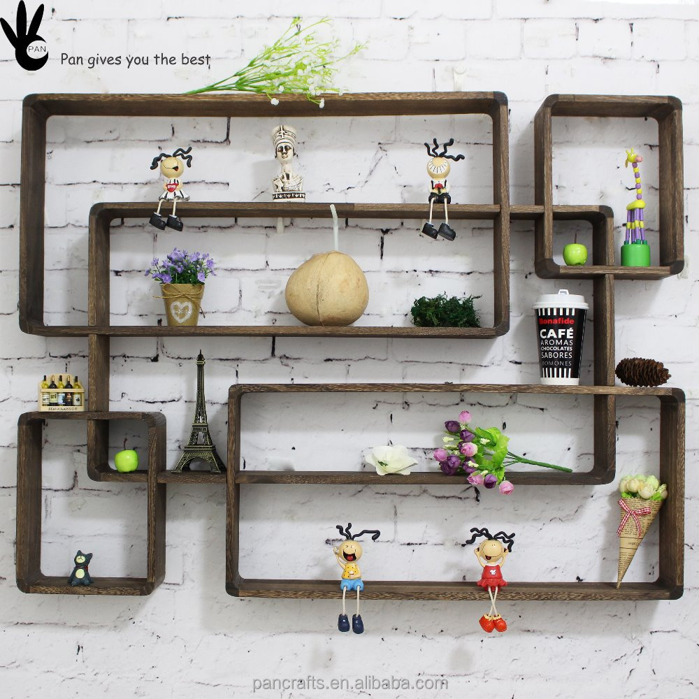 Environmental protection OEM wooden rack home decoration modern
