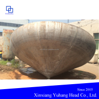 stainless steel conical head for the chemical industry equipments