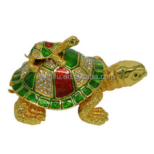 craft for qifu manufacturer turtle crystal art model QF3063