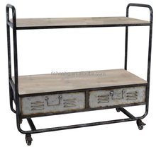 black finish with multi color storage cabinet loft style outdoor tv stand